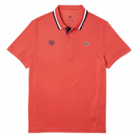 Męskie polo tenisowe Lacoste Polo Roland Garros M - red/blue