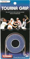 Owijki tenisowe Tourna Grip Dry Feel (3 szt.) - blue