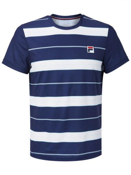 Męski T-Shirt Fila T-Shirt Julian M - white/peacoat blue