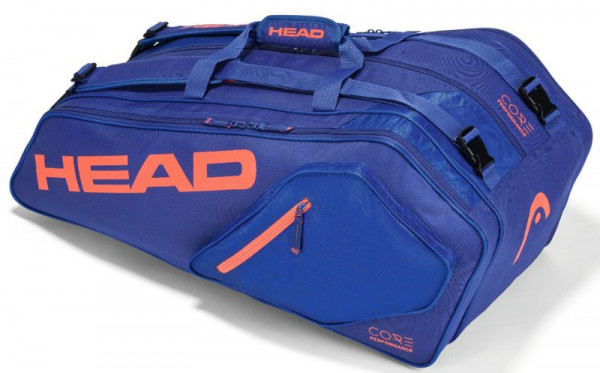 Head Core 9R Supercombi - blue/fiery coral