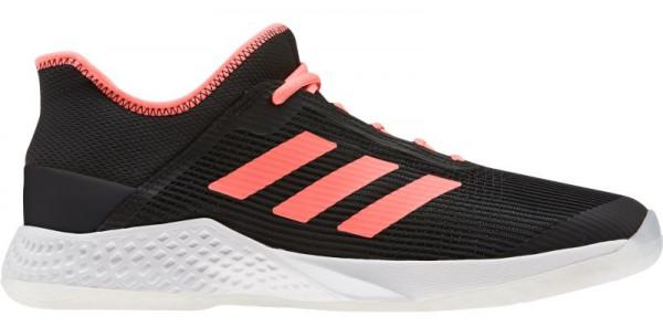 Męskie buty tenisowe Adidas Adizero Club - core black/signal coral/white