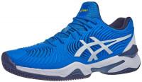 Męskie buty tenisowe Asics Court FF Novak Clay - electric blue/white