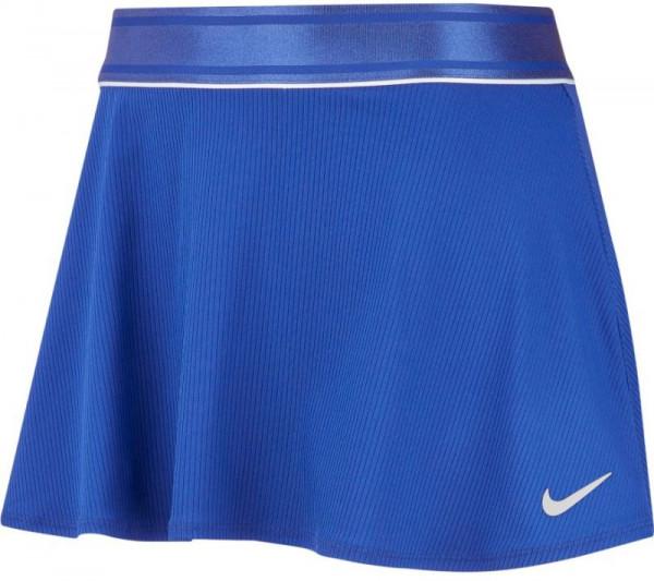 Nike Court Dry Flounce Skirt - game royal/white/white
