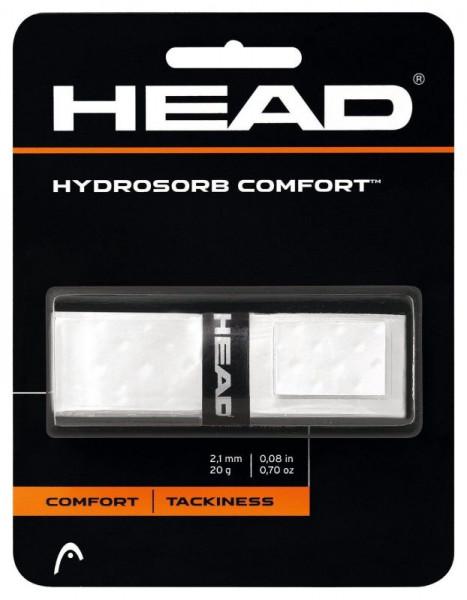 Owijki tenisowe bazowe Head Hydrosorb Comfort white 1P