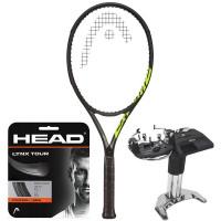 Rakieta tenisowa Head Graphene 360+ Extreme MP Nite 2021 + naciąg + usługa serwisowa
