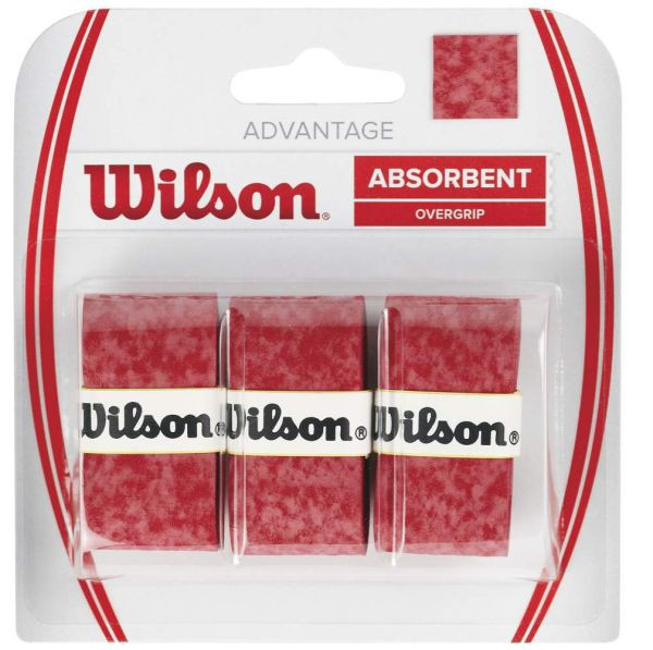 Liimlindid ülemähkimiseks Wilson Advantage 3P - red