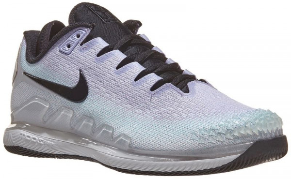 Damskie buty tenisowe Nike WMNS Air Zoom Vapor X Knit - pure platinum/black
