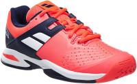 Juniorskie buty tenisowe Babolat Propulse All Court Junior - fluo red