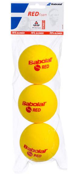 Teniso kamuoliukai pradedantiesiems Babolat Red Foam (3 vnt.)