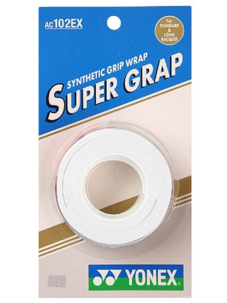 Viršutinės koto apvijos Yonex Super Grap (3 vnt.) - white