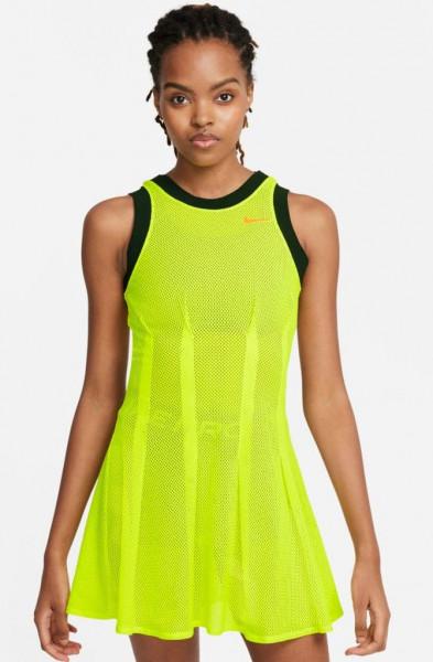 Naiste tennisekleit Nike Court Naomi Osaka Dri-Fit Dress NY W - lemon venom/bright crimson