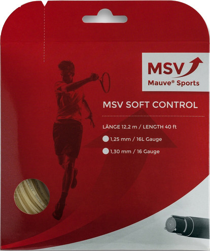 Tennis String MSV Soft Control (12 m) - natural