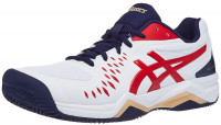 Asics Gel-Challenger 12 Clay - white/classic red