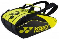 Torba tenisowa Yonex Pro Racquet Bag 9 Pack - black/lime