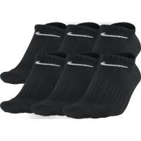 Teniso kojinės Nike Everyday Cotton Lightweight No Show - 6 poros/black/white