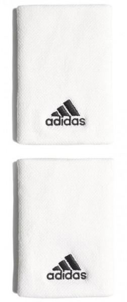 Riešo apvijos Adidas Tennis Wristband L (OSFM) - white/black