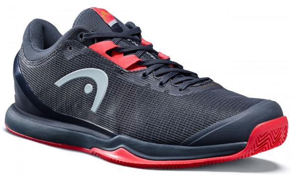 Męskie buty tenisowe Head Sprint Pro 3.0 Men Clay - midnight navy/neon red