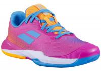 Juniorskie buty tenisowe Babolat Jet Match 3 All Court Junior - hot pink