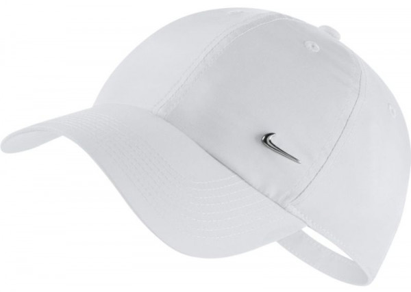 Teniso kepurė Nike H86 Metal Swoosh Cap - white/metallic silver