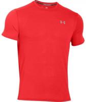 Męski T-Shirt Under Armour Threadborne Streak - red