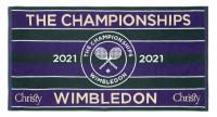 Ręcznik tenisowy Wimbledon Championship Towel with Hygro Technology - green/purple