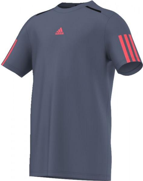 Majica za dječake Adidas Barricade Tee - tech ink/flash red