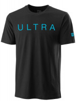 Męski T-Shirt Wilson Ultra Franchise Tech Tee - black