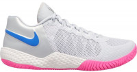 Damskie buty tenisowe Nike Flare 2 - pure platinum/racer blue