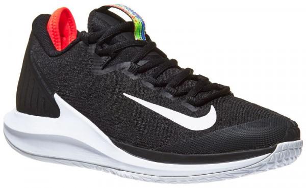 Nike Court Air Zoom Zero JR - black/white/bright crimson