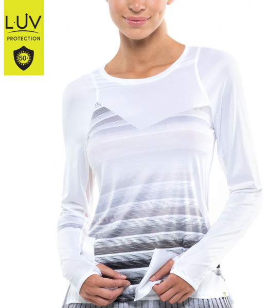 Ženska majica dugih rukava Lucky in Love Luv Prints Star Fall L/S Women - black