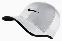 Nike Feather Light Cap - white/black