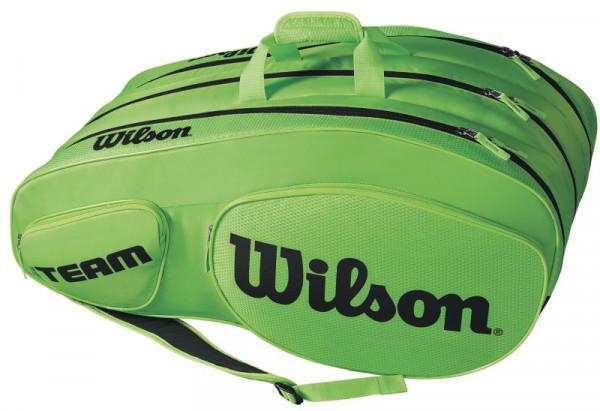 Wilson Team III 12 Pack Bag - green/black