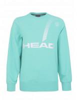 Ženski sportski pulover Head Rally Sweatshirt W - mint