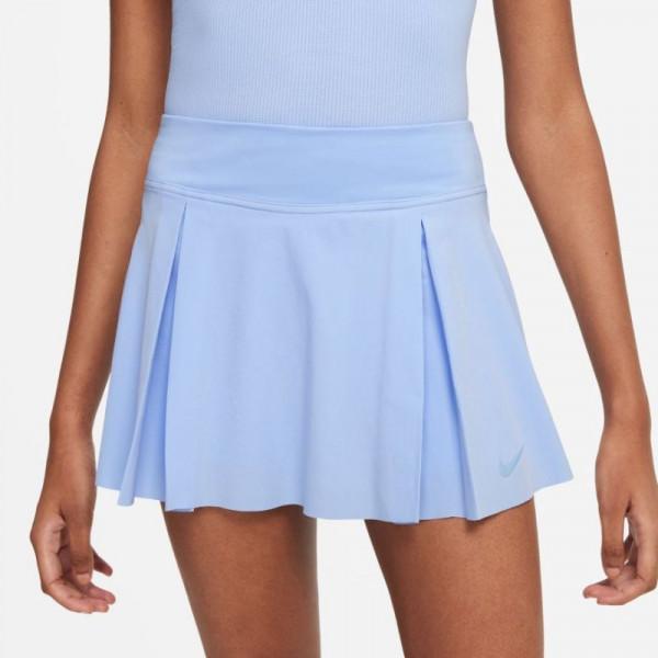 Teniso sijonas moterims Nike Club Short Tennis Skirt W - aluminum