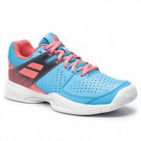 Damskie buty tenisowe Babolat Pulsion All Court W - sky blue/pink