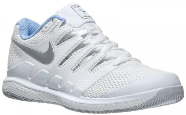 Damskie buty tenisowe Nike WMNS Air Zoom Vapor X - white/metallic silver/pure platinum