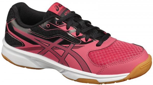 Buty do squasha Asics UpCourt 2 GS rouge reddark greyblack
