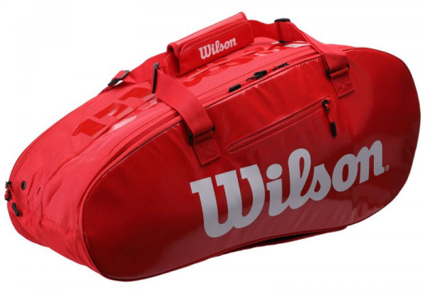 0e4e87dbf4d2a Wilson Super Tour 2 Comp Large - red | Wilson | Torby | Torby ...