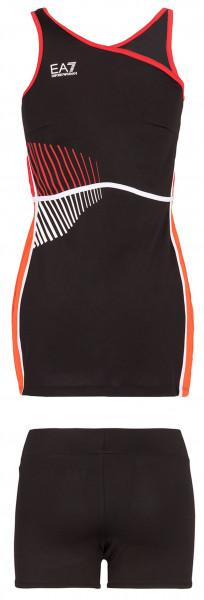 Teniso suknelė EA7 Woman Jersey Dress - black