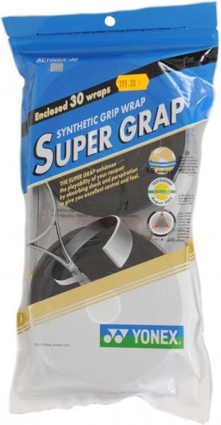 Liimlindid ülemähkimiseks Yonex Super Grap 30P - black