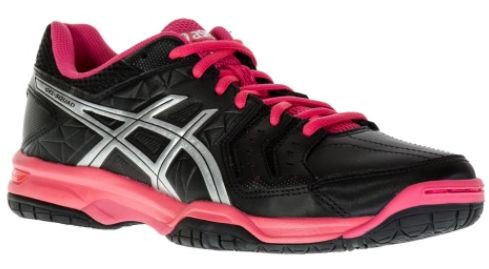 Buty do squasha Asics Gel-Squad - black/silver/rouge red