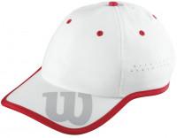 Wilson Baseball Hat - white/wilson red