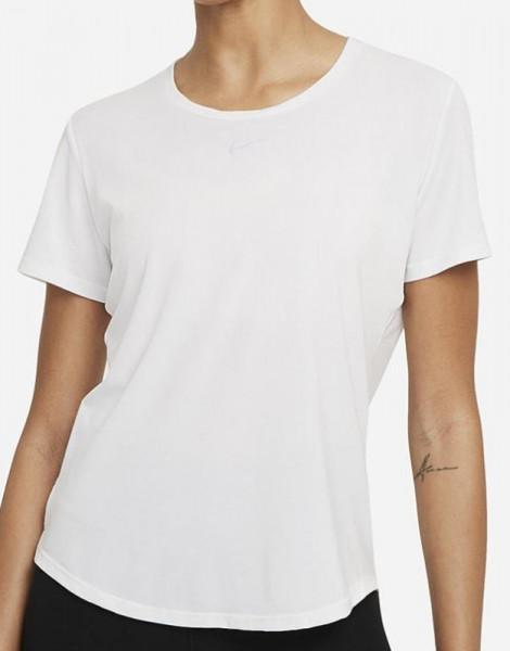 Marškinėliai moterims Nike One Luxe Dri-Fit SS STD Top W - white