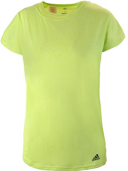 Tüdrukute maika Adidas Dotty Tee - semi frozen yellow
