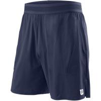 Męskie spodenki tenisowe Wilson M UL Kaos 7 Short - peacoat