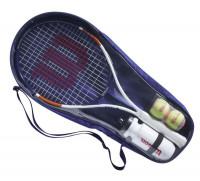 Rakieta juniorska Wilson Roland Garros Elite 21 Kit