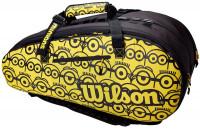 Teniso krepšys Wilson Minions Tour 12Pk - black/yellow