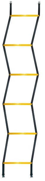 Drabinka tenisowa Pro's Pro Agility Ladder Quick - yellow