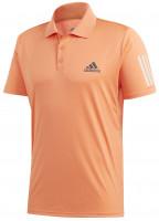 Polo marškinėliai vyrams Adidas Club 3-Stripes Polo - amber tint/grey six