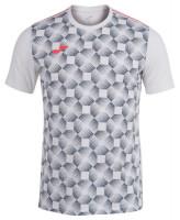Męski T-Shirt Joma Open III Short Sleeve T-Shirt - white